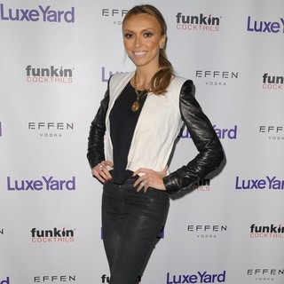 Giuliana Rancic in LuxeYard Style Launch Party - Arrivals