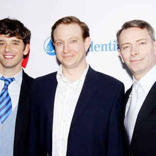 Michael Urie, Arnie Burton, Matthew Schneck in 21st Annual GLAAD Media Awards