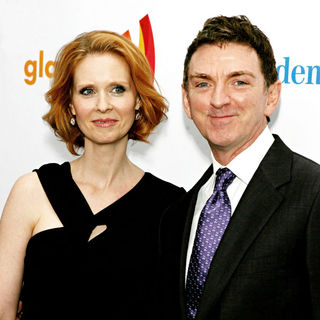 Cynthia Nixon, Michael Patrick King in 21st Annual GLAAD Media Awards