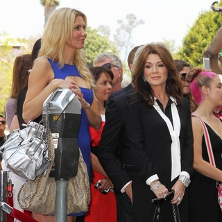 Brandi Glanville, Lisa Vanderpump in David Foster Honored with Star on The Hollywood Walk of Fame