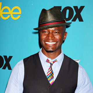 Taye Diggs in 'Glee' Spring Premiere Episode Outdoor Screening
