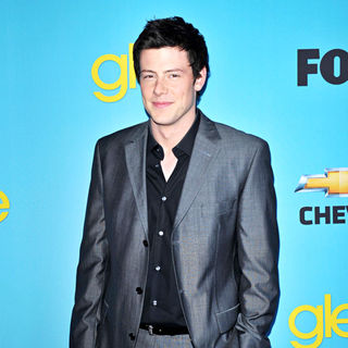 Cory Monteith in 'Glee' Spring Premiere Episode Outdoor Screening