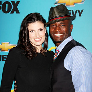Idina Menzel, Taye Diggs in 'Glee' Spring Premiere Episode Outdoor Screening
