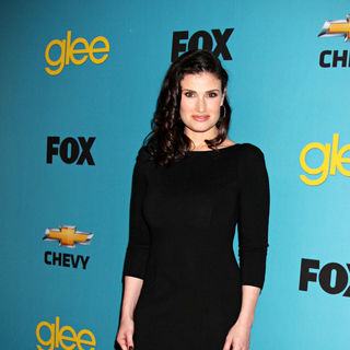 Idina Menzel in 'Glee' Spring Premiere Episode Outdoor Screening