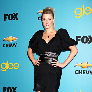 Heather Morris in 'Glee' Spring Premiere Episode Outdoor Screening