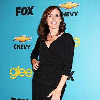Molly Shannon in 'Glee' Spring Premiere Episode Outdoor Screening