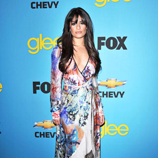Lea Michele in 'Glee' Spring Premiere Episode Outdoor Screening