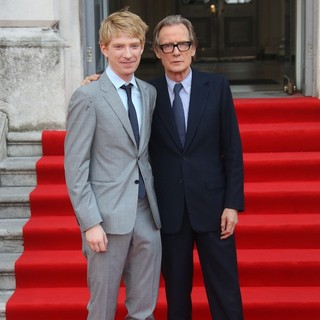 Domhnall Gleeson, Bill Nighy in About Time UK Premiere - Arrivals