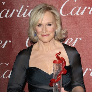 Glenn Close in The 23rd Annual Palm Springs International Film Festival Awards Gala - Press Room