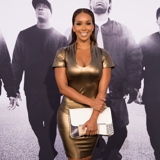 Gloria Govan in World Premiere of Universal Pictures' Straight Outta Compton - Arrivals