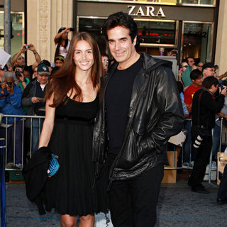 David Copperfield in Gnomeo and Juliet World Premiere - Arrivals