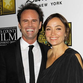 Walton Goggins, Nadia Conners in Broadcast Television Journalists Association's 3rd Annual Critics' Choice Television Awards