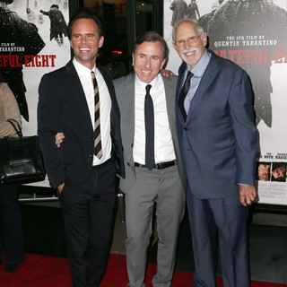 Walton Goggins, Tim Roth, Bruce Dern in Premiere of The Weinstein Company's The Hateful Eight - Red Carpet Arrivals