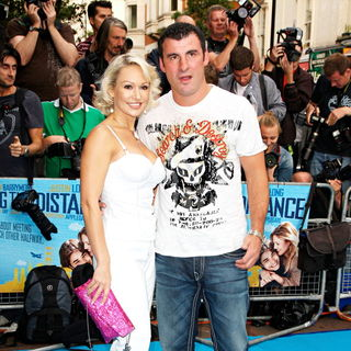 Kristina Rihanoff, Joe Calzaghe in The UK Premiere of 'Going the Distance' - Arrivals