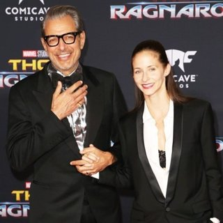 Jeff Goldblum, Emilie Livingston in World Premiere of Thor: Ragnarok
