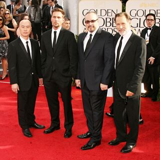C.S. Lee, Desmond Harrington, David Zayas, James Remar in 68th Annual Golden Globe Awards - Arrivals
