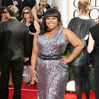 Amber Riley in 68th Annual Golden Globe Awards - Arrivals