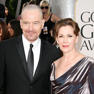 Bryan Cranston, Robin Dearden in 68th Annual Golden Globe Awards - Arrivals