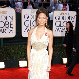 Vanessa Minnillo in 67th Golden Globe Awards - Arrivals