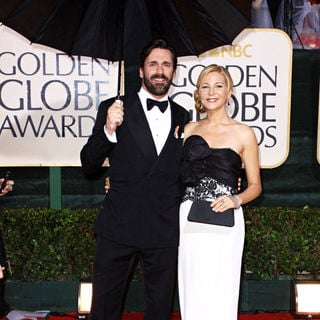 Jon Hamm, Jennifer Westfeldt in 67th Golden Globe Awards - Arrivals