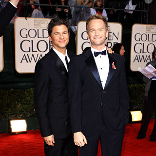 Neil Patrick Harris, David Burtka in 67th Golden Globe Awards - Arrivals
