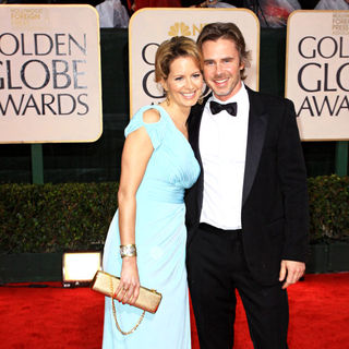Sam Trammell, Missy Yager in 67th Golden Globe Awards - Arrivals