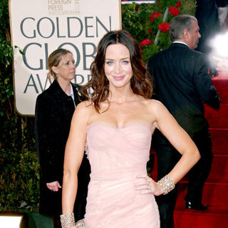Emily Blunt in 67th Golden Globe Awards - Arrivals