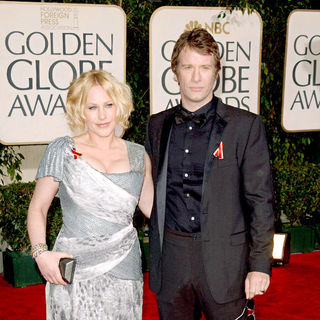 Patricia Arquette, Thomas Jane in 67th Golden Globe Awards - Arrivals