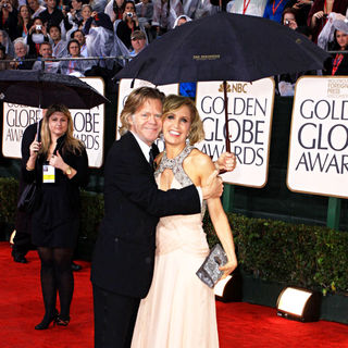 Felicity Huffman, William H. Macy in 67th Golden Globe Awards - Arrivals