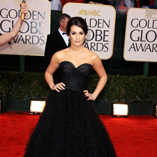 Lea Michele in 67th Golden Globe Awards - Arrivals