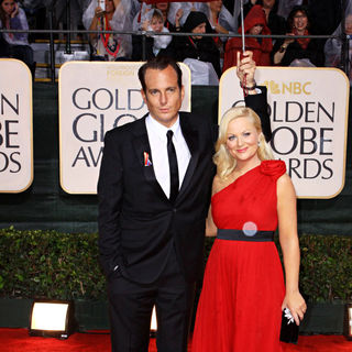 Amy Poehler, Will Arnett in 67th Golden Globe Awards - Arrivals