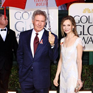 Harrison Ford, Calista Flockhart in 67th Golden Globe Awards - Arrivals