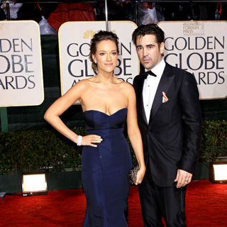 Colin Farrell, Alicja Bachleda in 67th Golden Globe Awards - Arrivals
