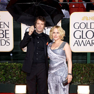 Thomas Jane, Patricia Arquette in 67th Golden Globe Awards - Arrivals