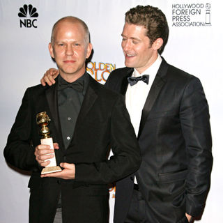 Ryan Murphy, Matthew Morrison in 68th Annual Golden Globe Awards - Press Room