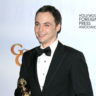 Jim Parsons in 68th Annual Golden Globe Awards - Press Room