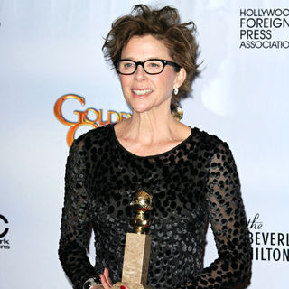 Annette Bening in 68th Annual Golden Globe Awards - Press Room