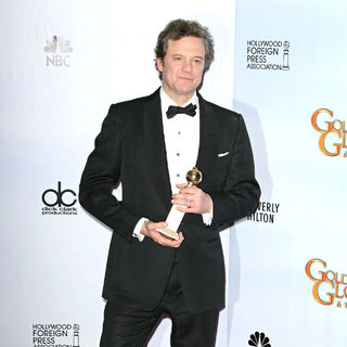Colin Firth in 68th Annual Golden Globe Awards - Press Room