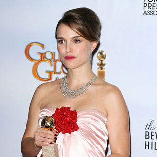 Natalie Portman in 68th Annual Golden Globe Awards - Press Room