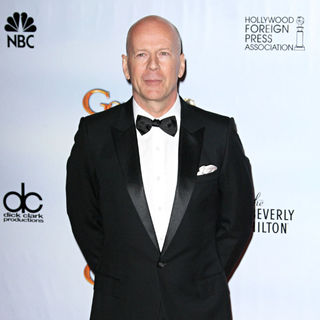 Bruce Willis in 68th Annual Golden Globe Awards - Press Room