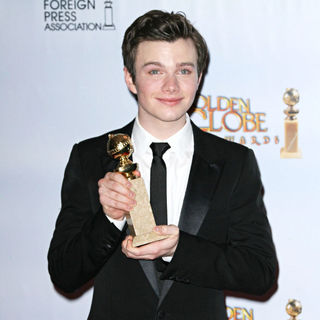 Chris Colfer in 68th Annual Golden Globe Awards - Press Room