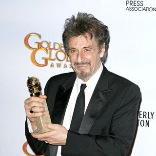 Al Pacino in 68th Annual Golden Globe Awards - Press Room