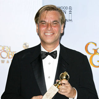 Aaron Sorkin in 68th Annual Golden Globe Awards - Press Room