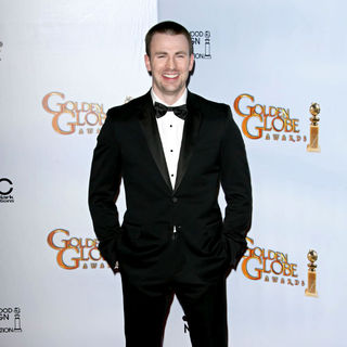 Chris Evans in 68th Annual Golden Globe Awards - Press Room