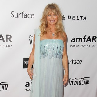 Goldie Hawn in 2013 amfAR Inspiration Gala Los Angeles Presented by MAC Viva Glam