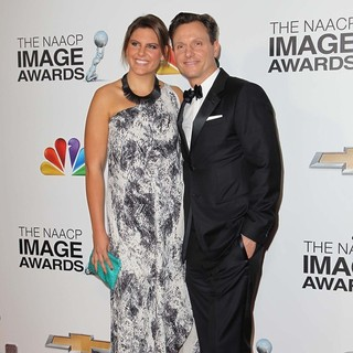 Anna Goldwyn, Tony Goldwyn in The 44th NAACP Image Awards