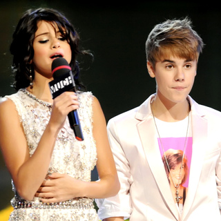 Selena Gomez, Justin Bieber in The 22nd Annual MuchMusic Video Awards