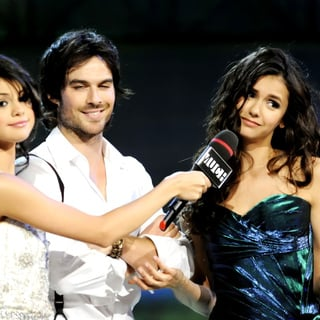 Selena Gomez, Ian Somerhalder, Nina Dobrev in The 22nd Annual MuchMusic Video Awards