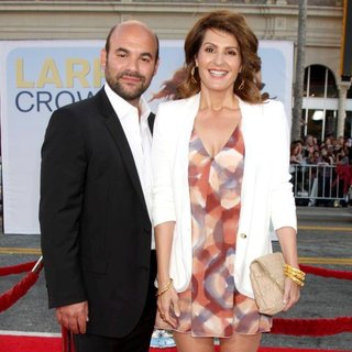 Ian Gomez, Nia Vardalos in Larry Crowne Los Angeles Premiere