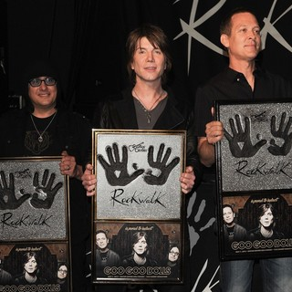 The Induction of The Goo Goo Dolls into Guitar Center's RockWalk - goo-goo-dolls-rockwalk-06